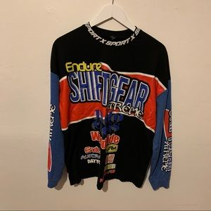 urban outfitters shift gear skate long sleeve tee